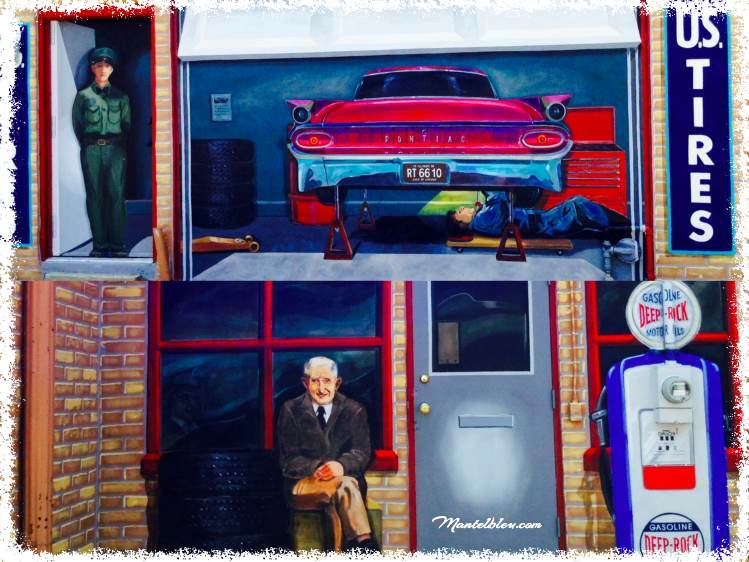 Route 66 Hall of fame and Historic Museum Murales Pontiac (Illinois_Fotor