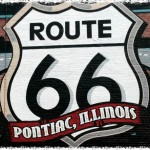 Route 66 Pontiac (Illinois) mural