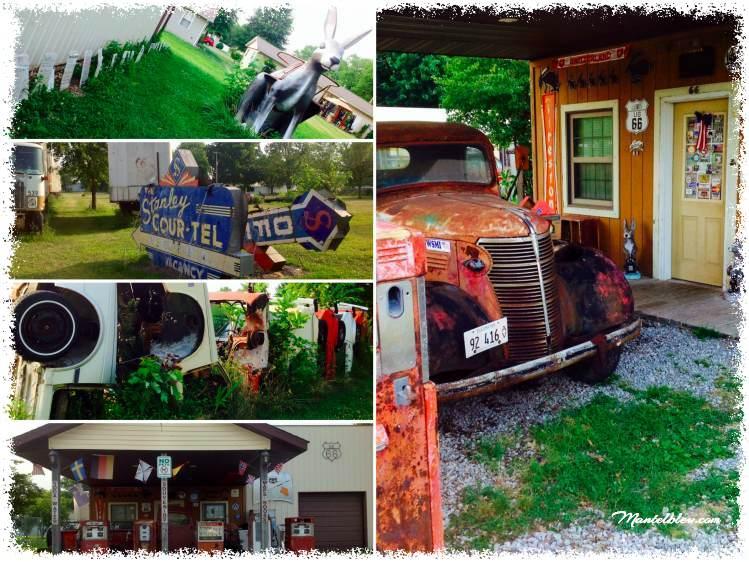 Route 66 Stauton (Illinois) Henri´s Rabbit Ranch_Fotor