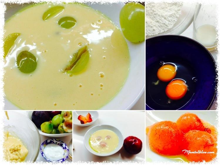Clafoutis de higo, uvas y ciruelas Collage_Fotor