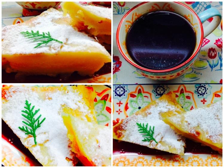Pastel de crepe con manzana 2