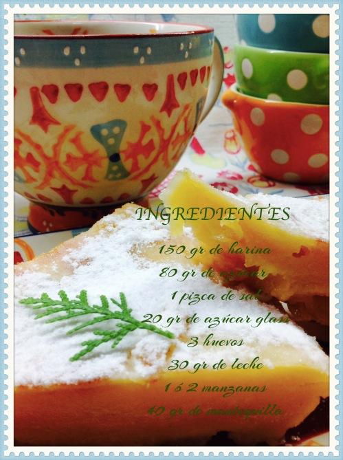 Pastel de crepe con manzana Ingrediente