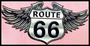 Route 66 Etiqueta