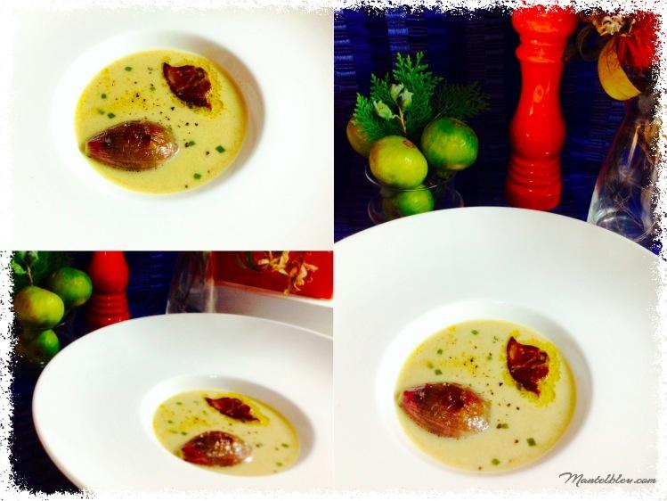 Sopa de chalotas y foie collage_Fotor