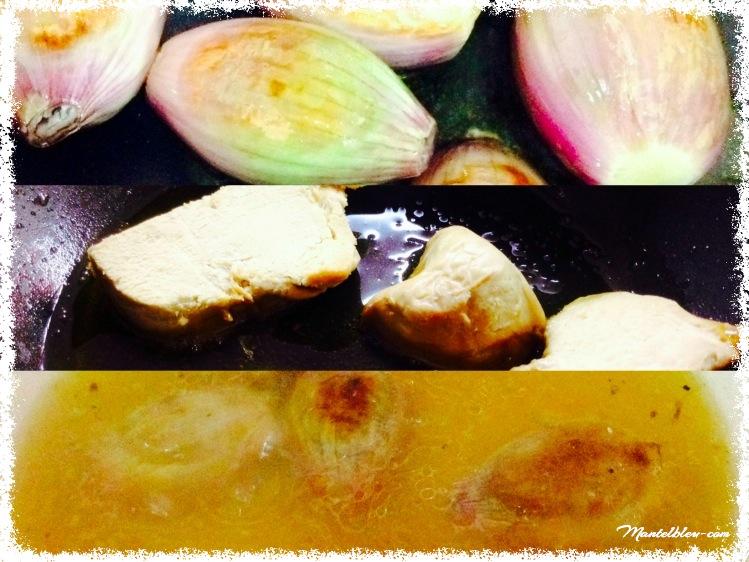 Sopa de chalotas y foie_Fotor