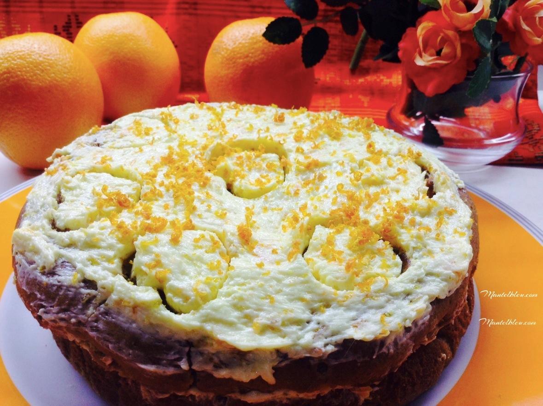 Tarta de té verde Matza con crema de naranja portada_Fotor