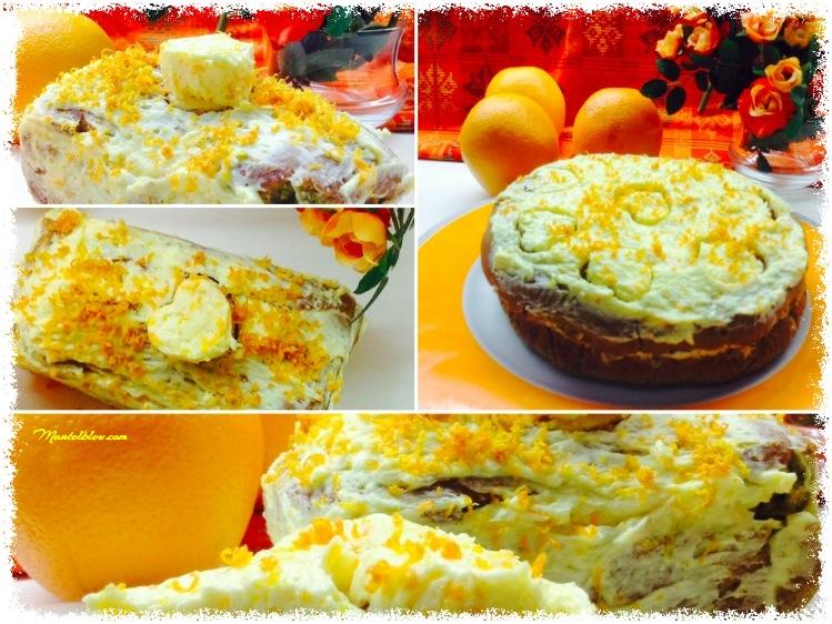 Tarta con té matcha y crema de naranja 1_Fotor