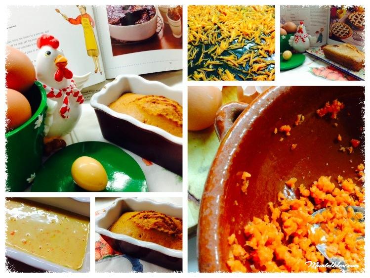Bizcocho de zanahoria con chocolate blanco elaboración_Fotor