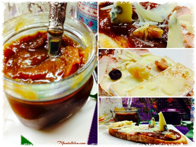 Tosta de mermelada de higos, quesos y paté 2_Fotor