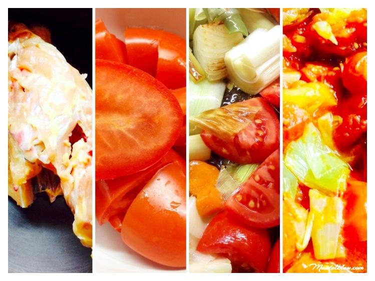 lSopa de tomate elaboración_Fotor