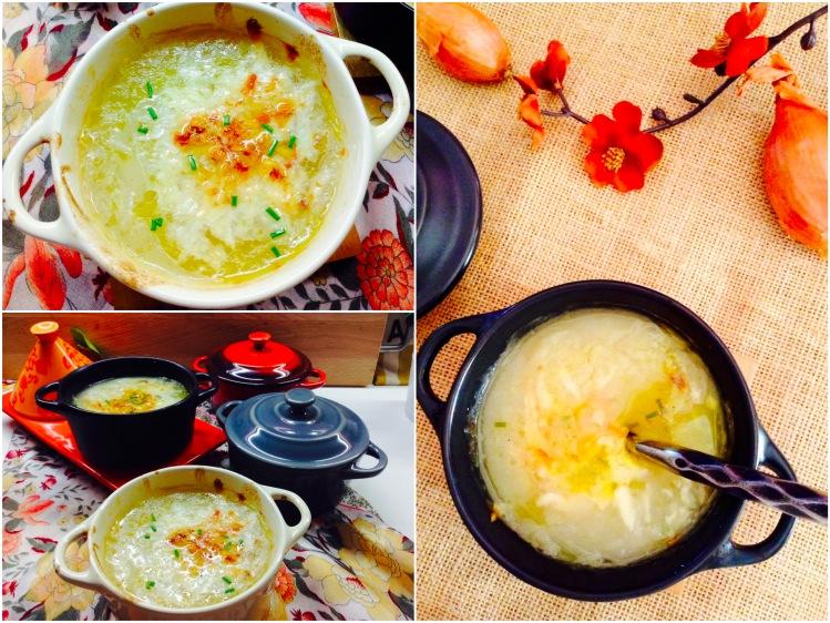 Sopa de cebolla con queso gratinado 5