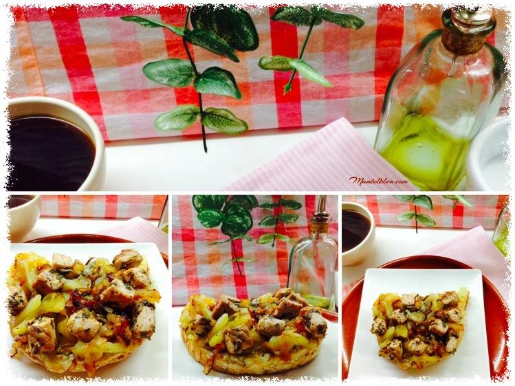 Tosta de patatas con cebolla y taquitos de lomo 2_Fotor