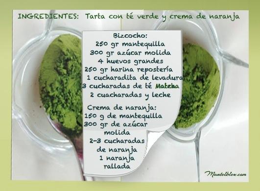 Tarta con té verde matcha y crema de naranja_1 Fotor