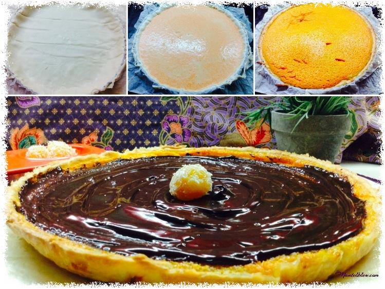 tarta de calabaza con chocolate y naranja elaboración_Fotor