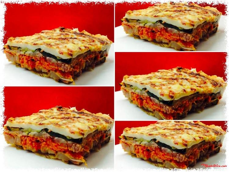 Lasaña de calabacines con morro y verduras 5 raciones_Fotor