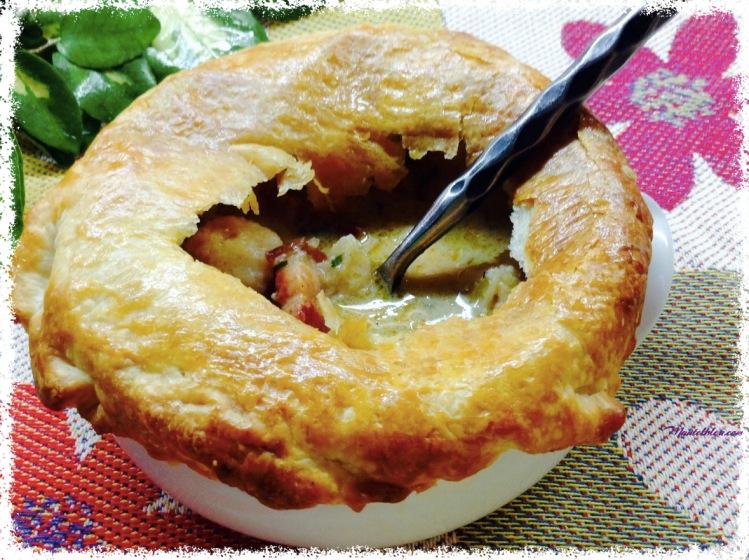 Sopa de ave con coliflor y bacón_Fotor