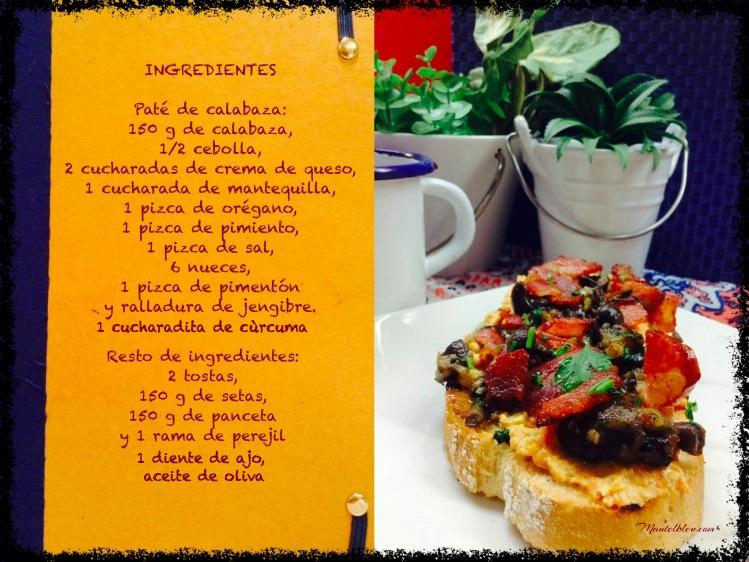 tosta de paté de calabacín con setas y panceta ingredientes_Fotor_Fotor