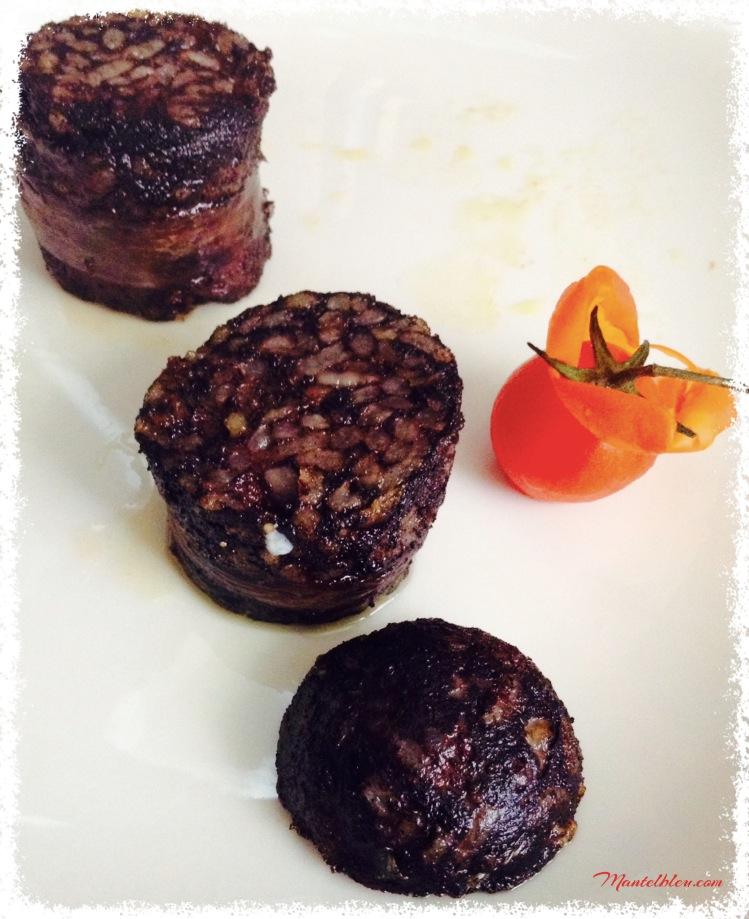 Morcilla de Muskiz frita