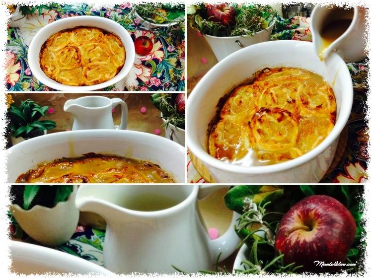 Tarta de caracolas con manzana y salsa de caramelo 3 Fotor_Collage_Fotor