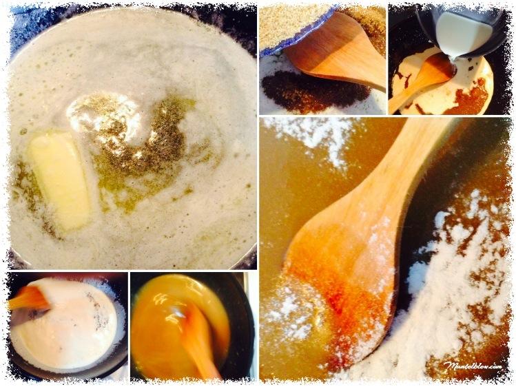Preparamos la salsa de caramelo
