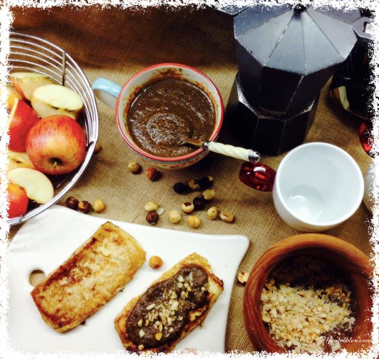 Mermelada de café- Tostas francesas con mermelada de café. 2