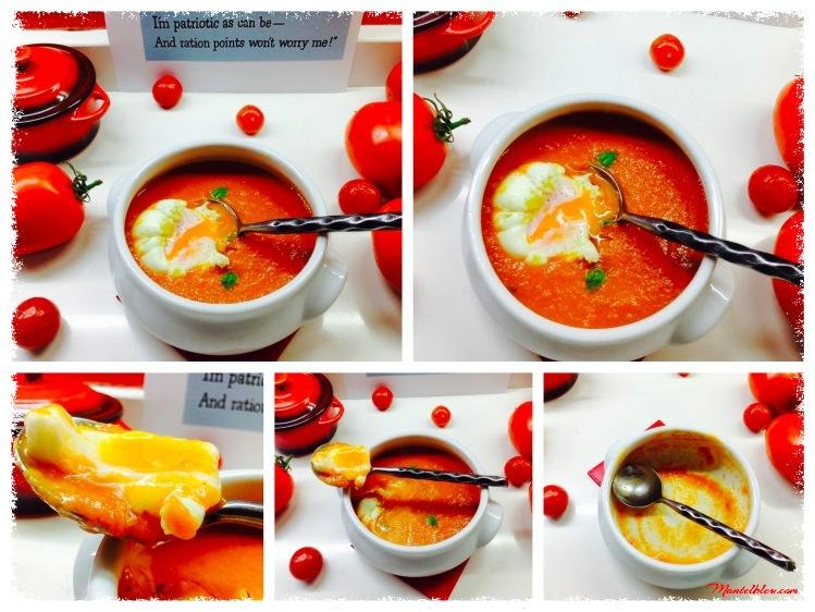 Crema de tomate con huevo poché 1_Fotor