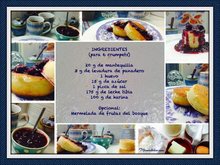 Crumpets con frutas del bosque Ingredientes etiqueta_Fotor
