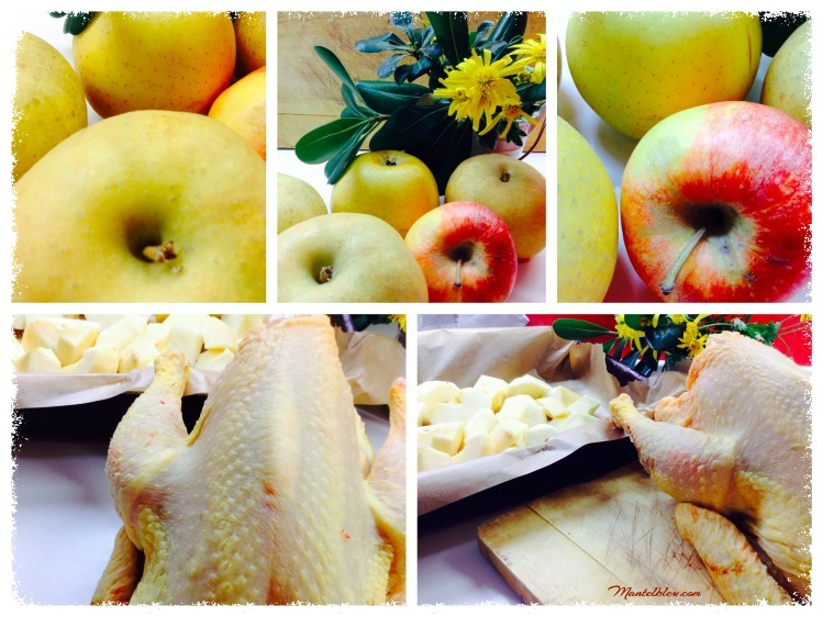 Pollo con manzanas Ingredientes_Fotor