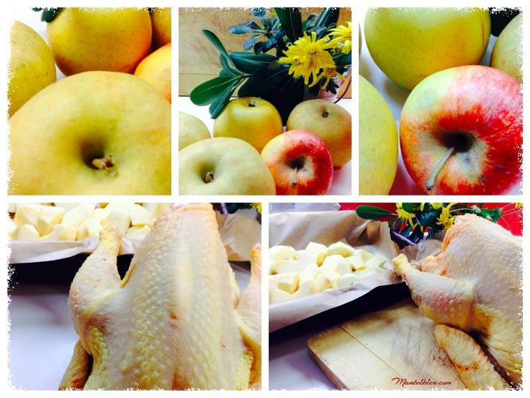 Pollo con manzanas Ingredientes_Fotor