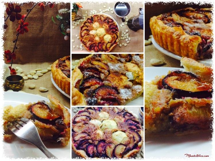 Tarta de almendras con ciruelas y manzanas 7_Fotor