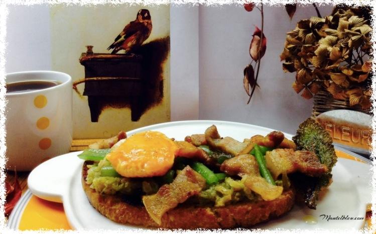 Tosta de borraja con tocineta y yema_Portada _Fotor