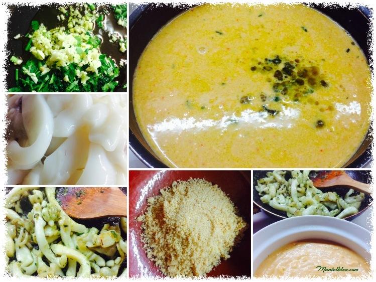Sopa de romesco con sepia_ Elaboración Fotor