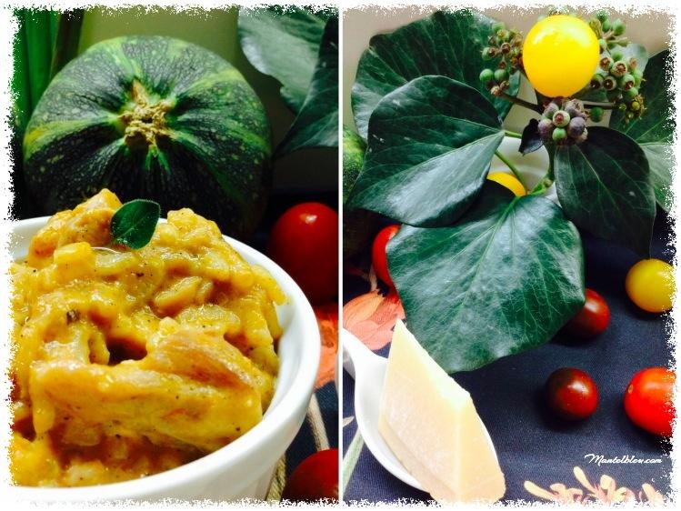 Arroz con salsa de verduras y pollo 3_Fotor