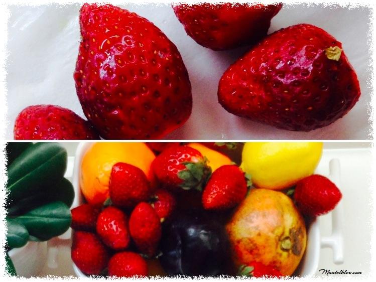 Pastelitos de flores de hojaldre con frutas Ingredientes 1_Fotor
