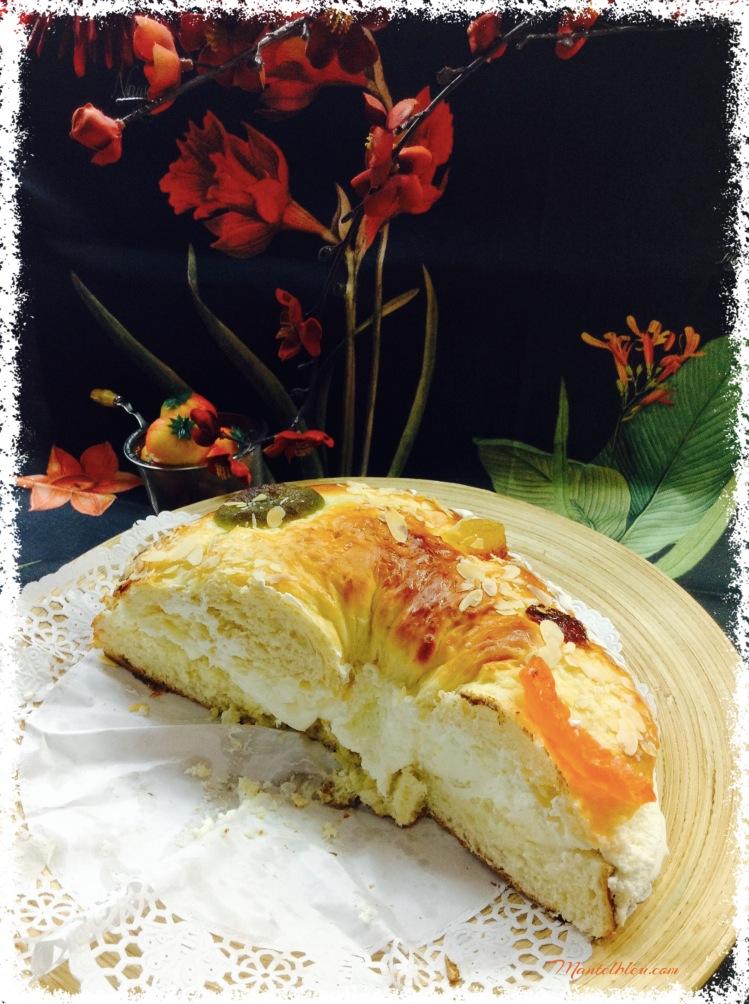 Roscón de Reyes de nata y trufa 1