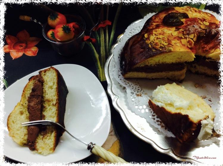 Roscón de Reyes de nata y trufa 2