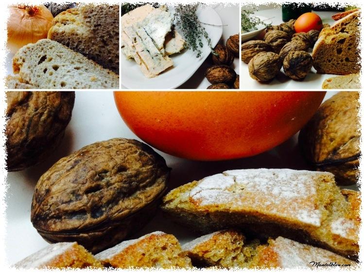 Tosta de queso gorgonzola con nueces y huevos ingredientes_Fotor