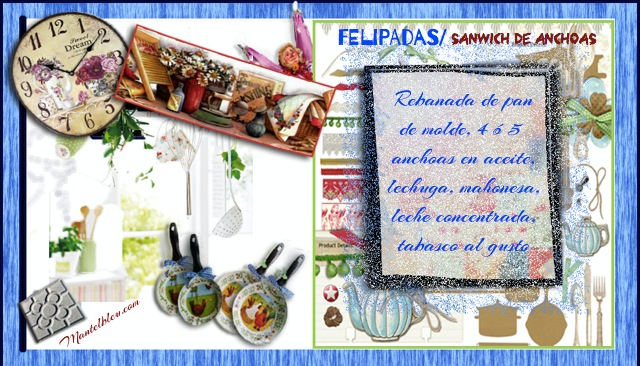 Sandwich de anchoa Felipada