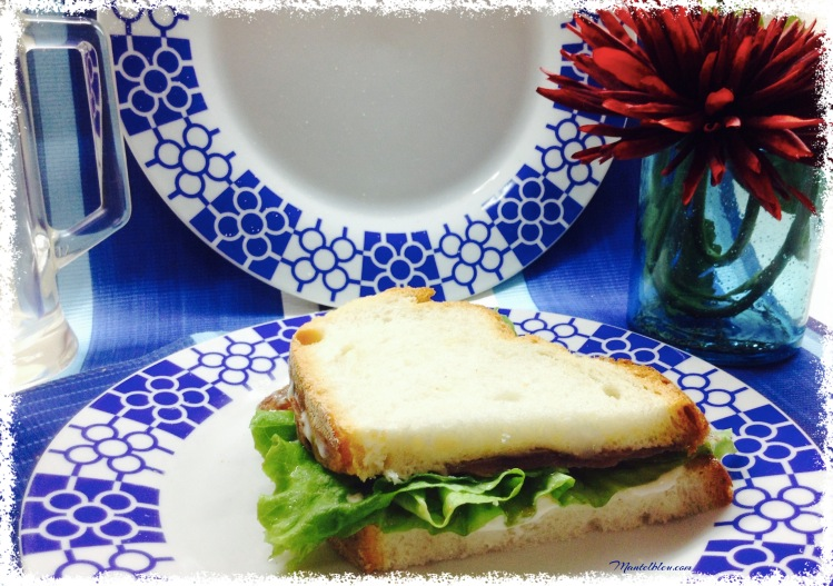 Sandwich de anchoa. Felipada 1