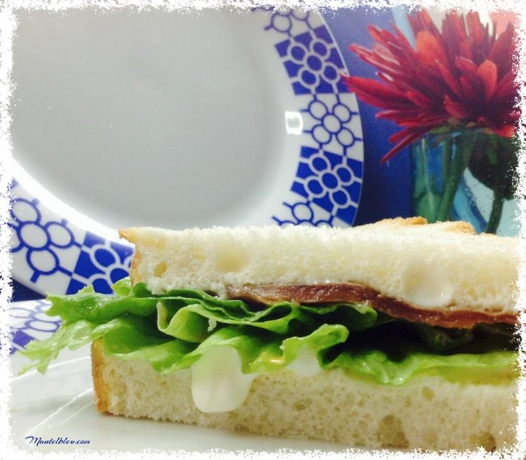 Sandwich de anchoa. Felipada 2