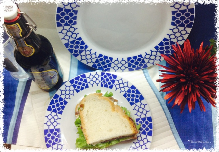 Sandwich de anchoa.  Felipada 3
