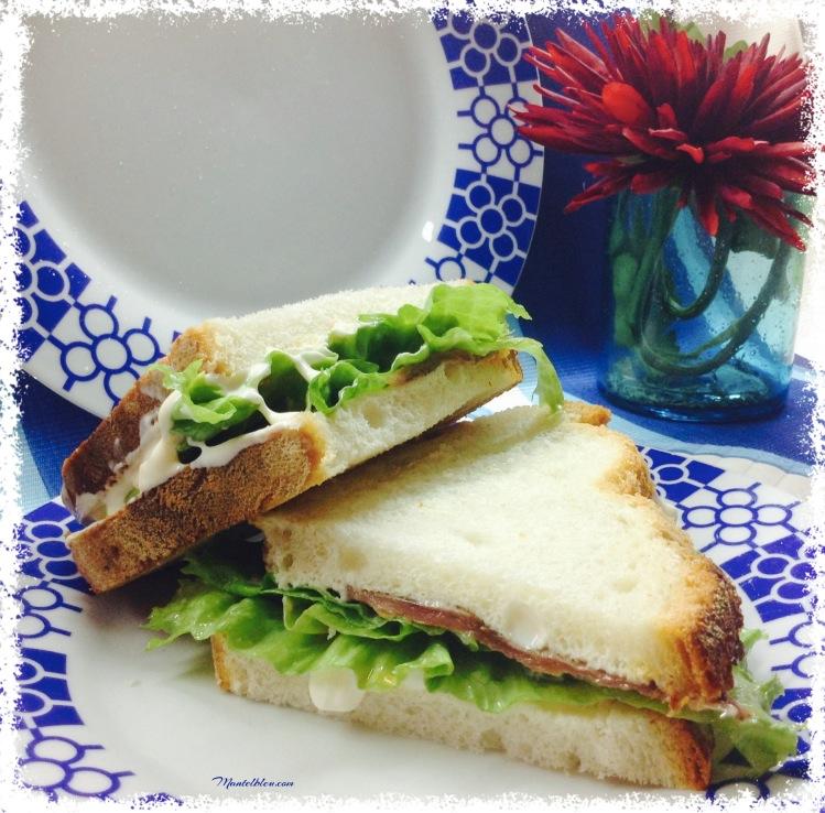 Sandwich de anchoa. Felipada 4