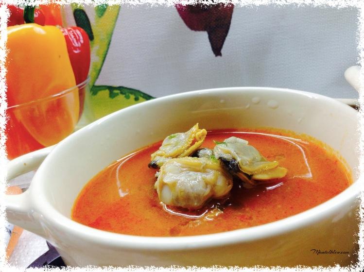 Sopa de almejas 1