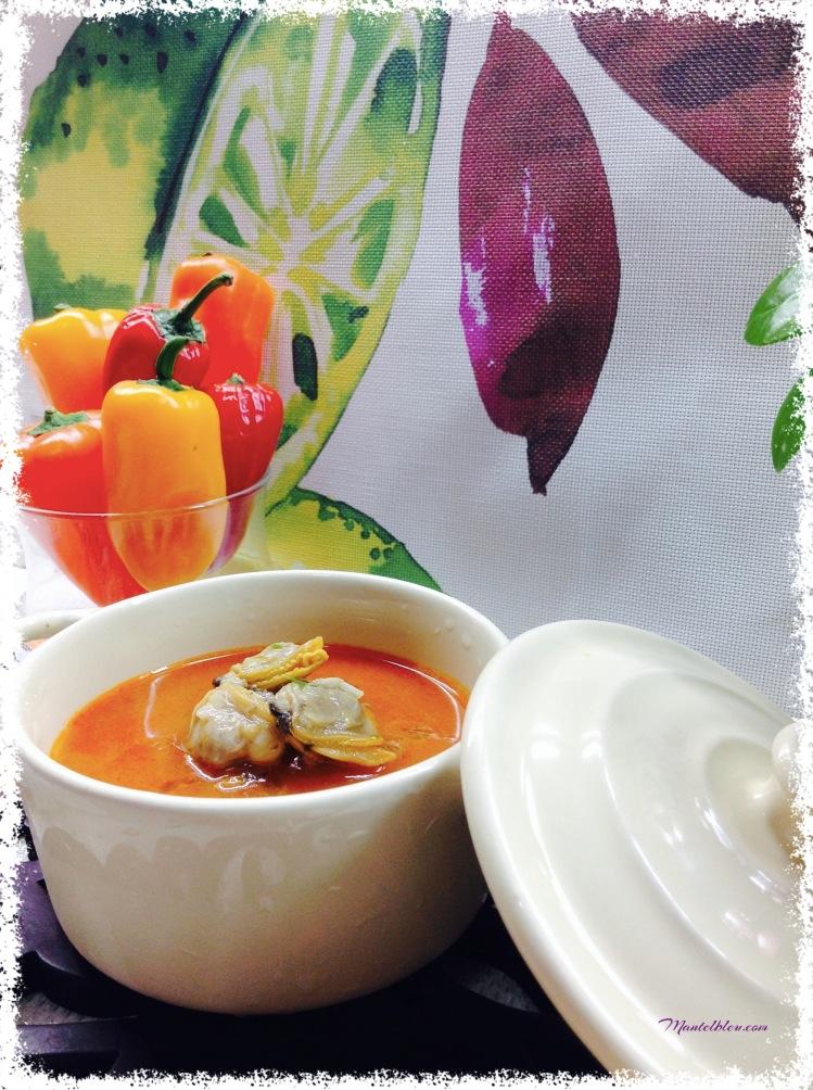 Sopa de almejas 2