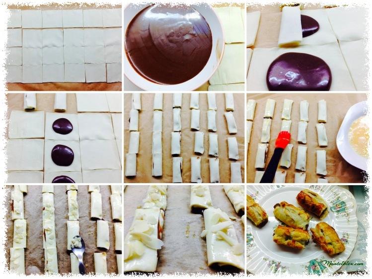 Garroticos con chocolate  Napolitanas Elaboración_Fotor