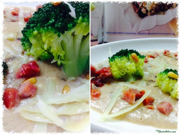 Brócoli con bechamel con queso y piñones 4_Fotor
