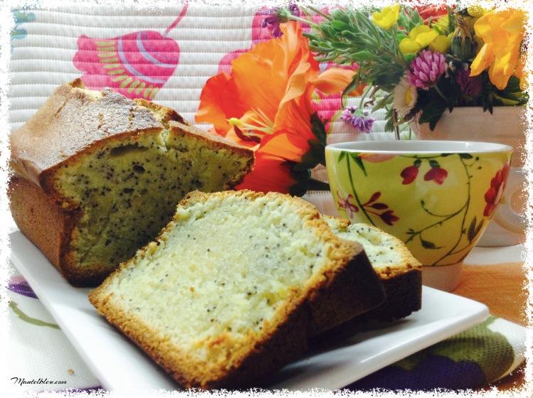Bizcocho de limón con semillas de amapola 1