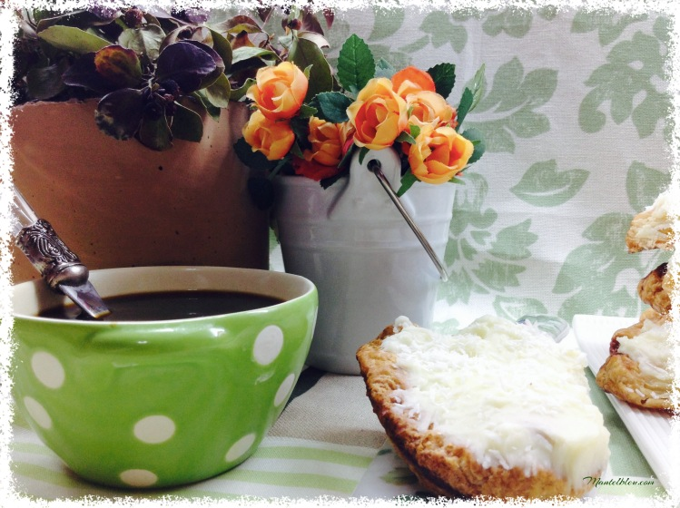 Palmeras con crema de mantequilla y coco 3