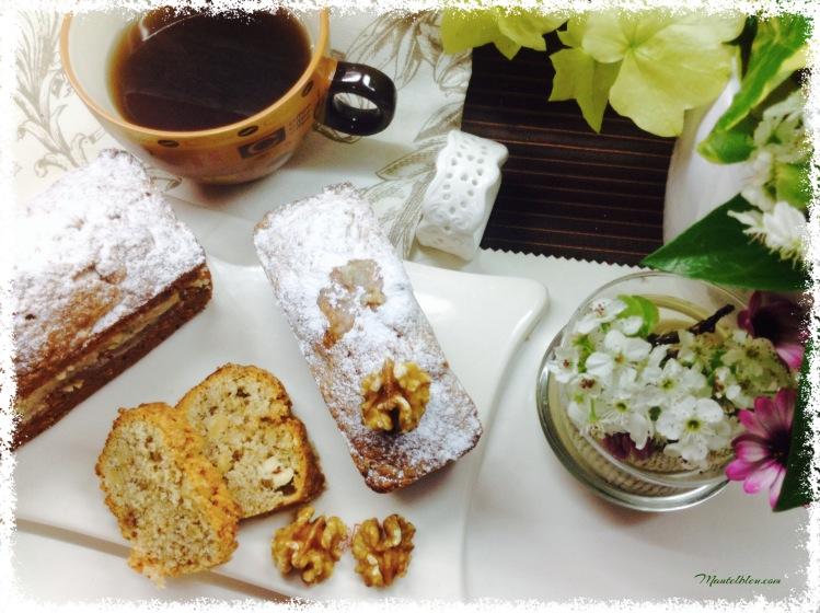 Bizcocho de café con frutos secos 4