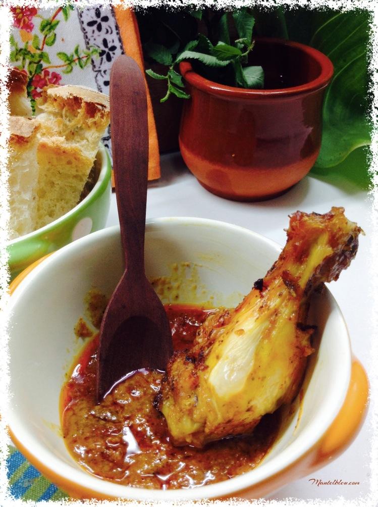Alitas de pollo adobadas.  5